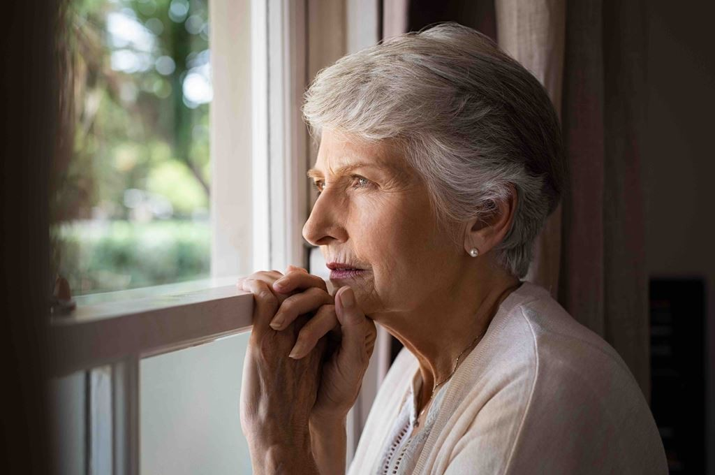 bigstock-Depressed-senior-woman-at-home-259489585