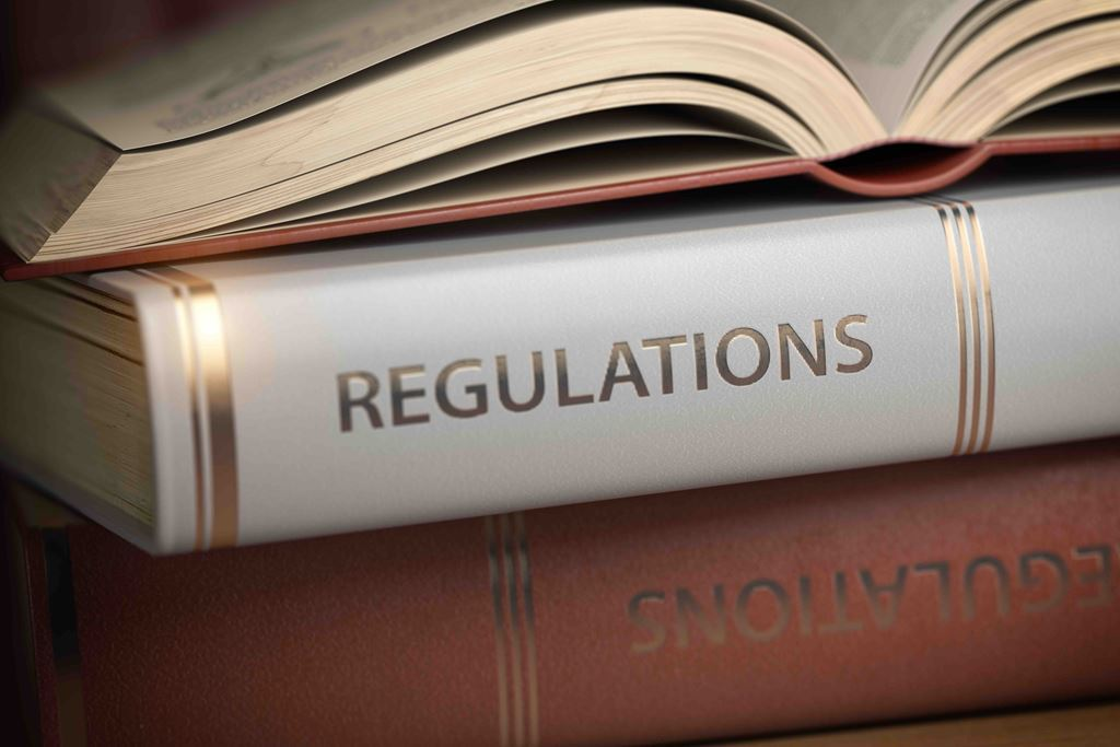 bigstock-Regulations-book-Law-rules-a-289015024