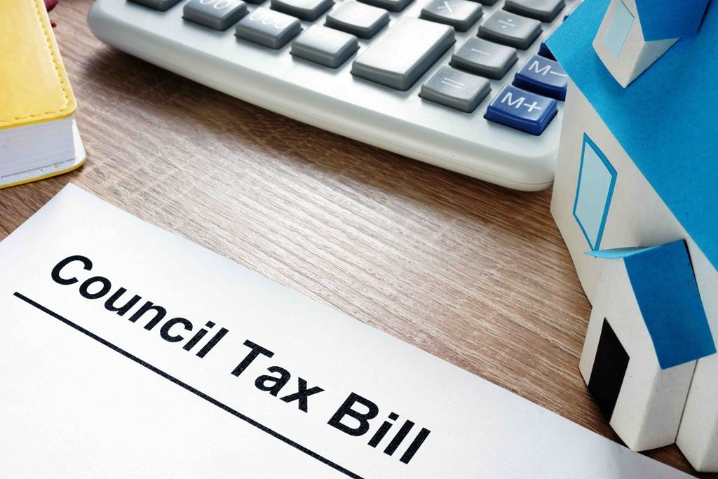 bigstock-Council-Tax-Bill-And-Model-Of--247666222