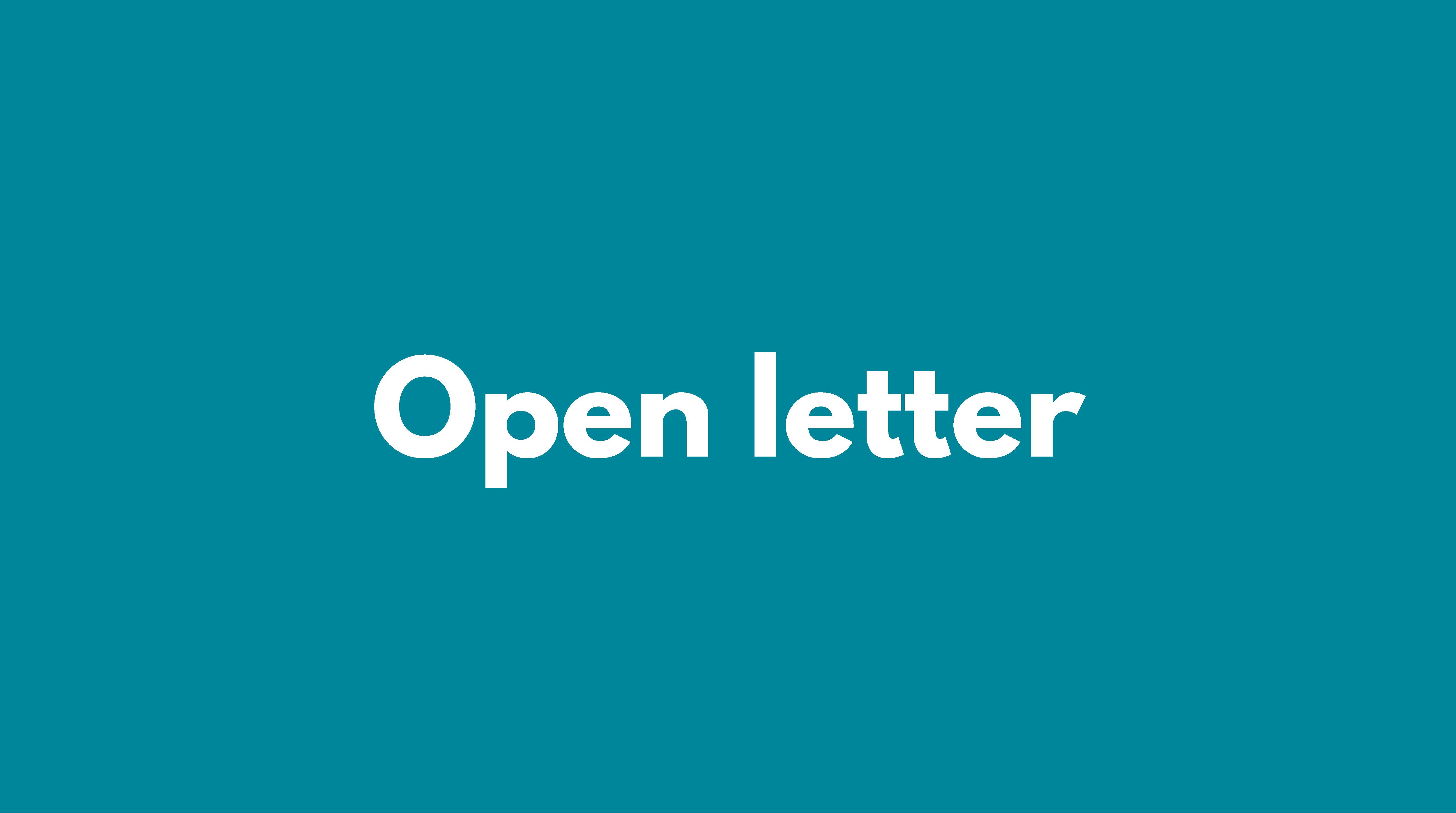 open-letter